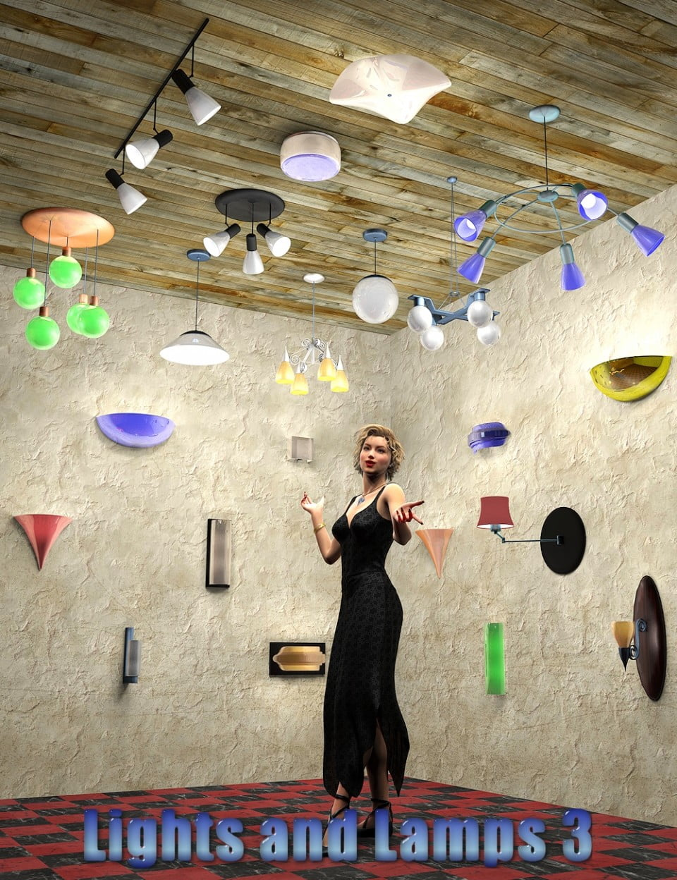 InaneGlory's Lights and Lamps 3 – Ceiling and Wall Lamps