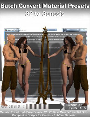 Batch Convert Genesis 2 to Genesis