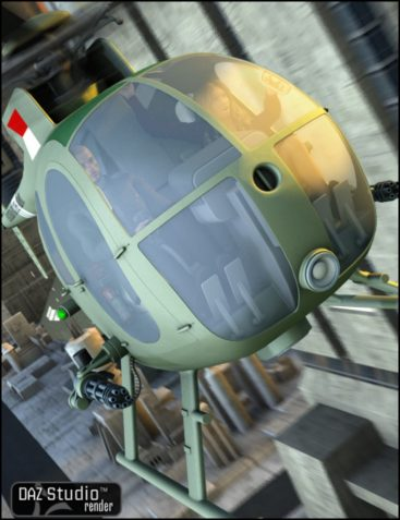 OH6A Helicopter