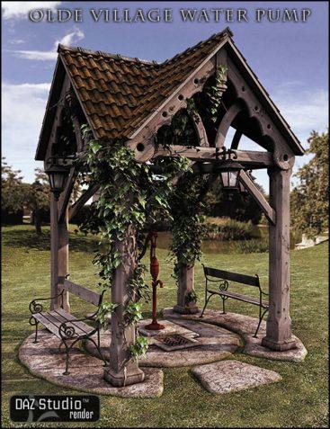 Old Village Water Pump