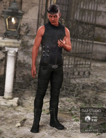 Bad Boy Outfit for Genesis 3 Male(s)