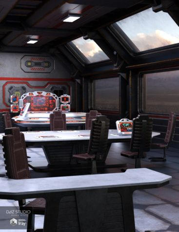 Sci Fi Stronghold Tactical Room