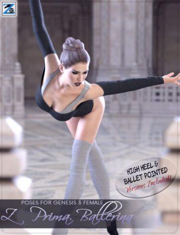 Z Prima Ballerina - Poses for Genesis 3 Female