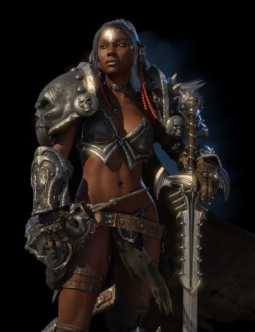 Kadis - Ancient Legendary Armor, Weapons and Poses for Genesis 3 Female(s)