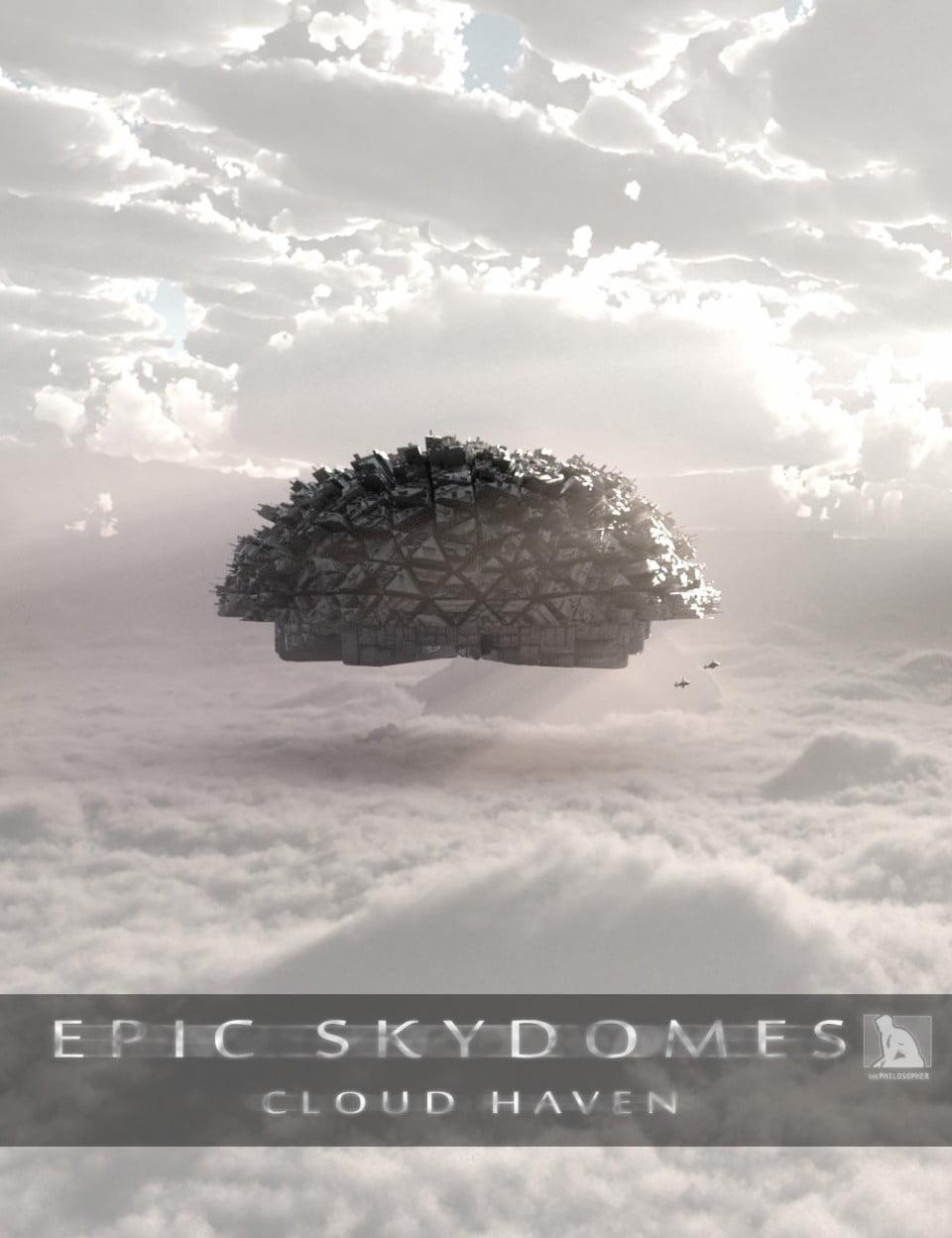 Epic Skydomes Cloud Haven HDRI