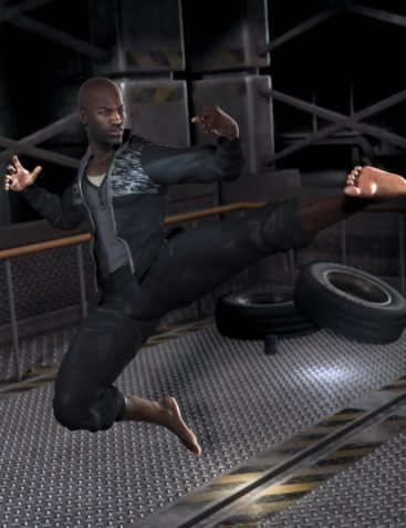 Everyday Training Suit for Genesis 2 Male(s)