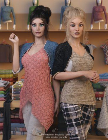 Fabric Factory: Realistic Texturing - Iray Shader Presets