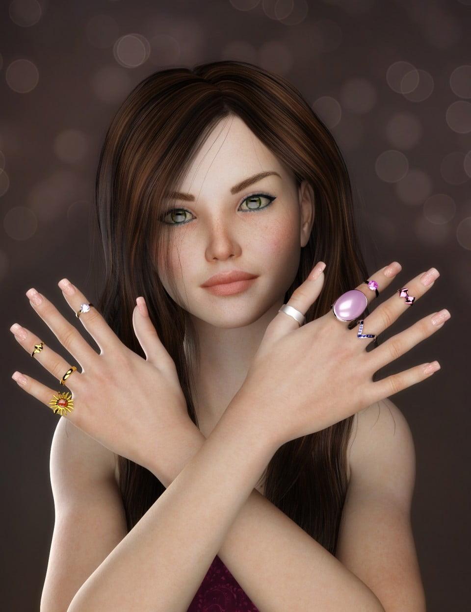Rings and Things for Genesis 3 Female(s)