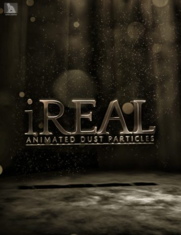 iREAL Animated Dust Particles & Bokeh