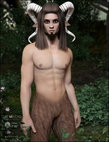 Forest Fantasy: Satyrn for Genesis 3 Male(s)