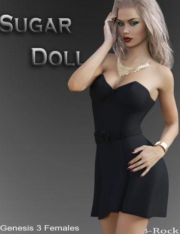 Sugar Doll for Genesis 3 Females