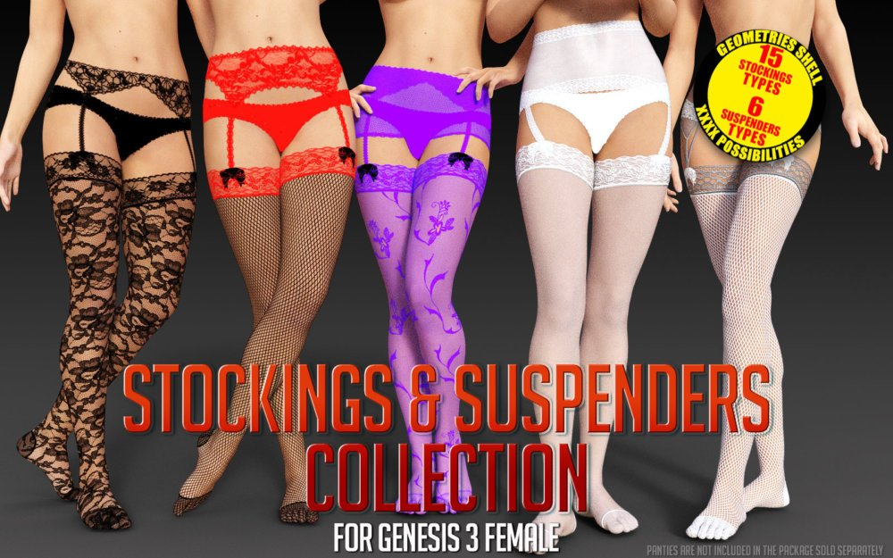 Stockings & Suspenders Collection for G3 females
