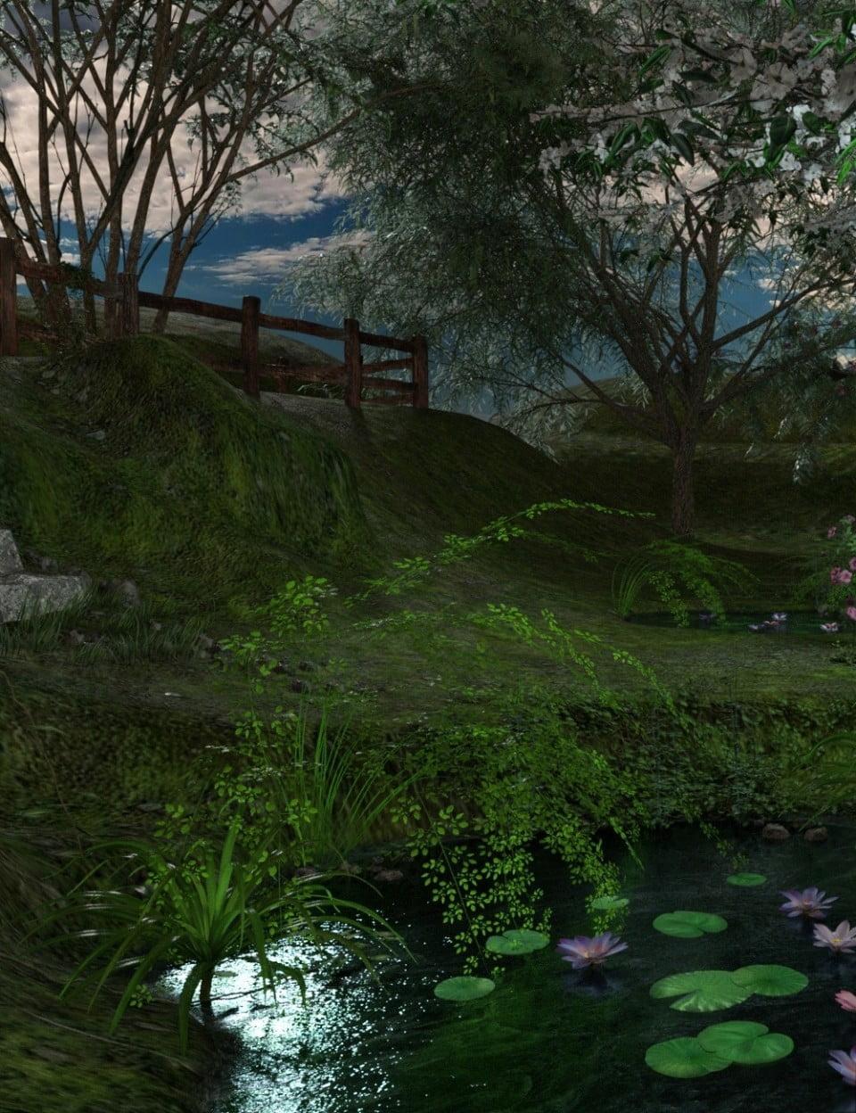 The Secret Valley (Iray Worlds)
