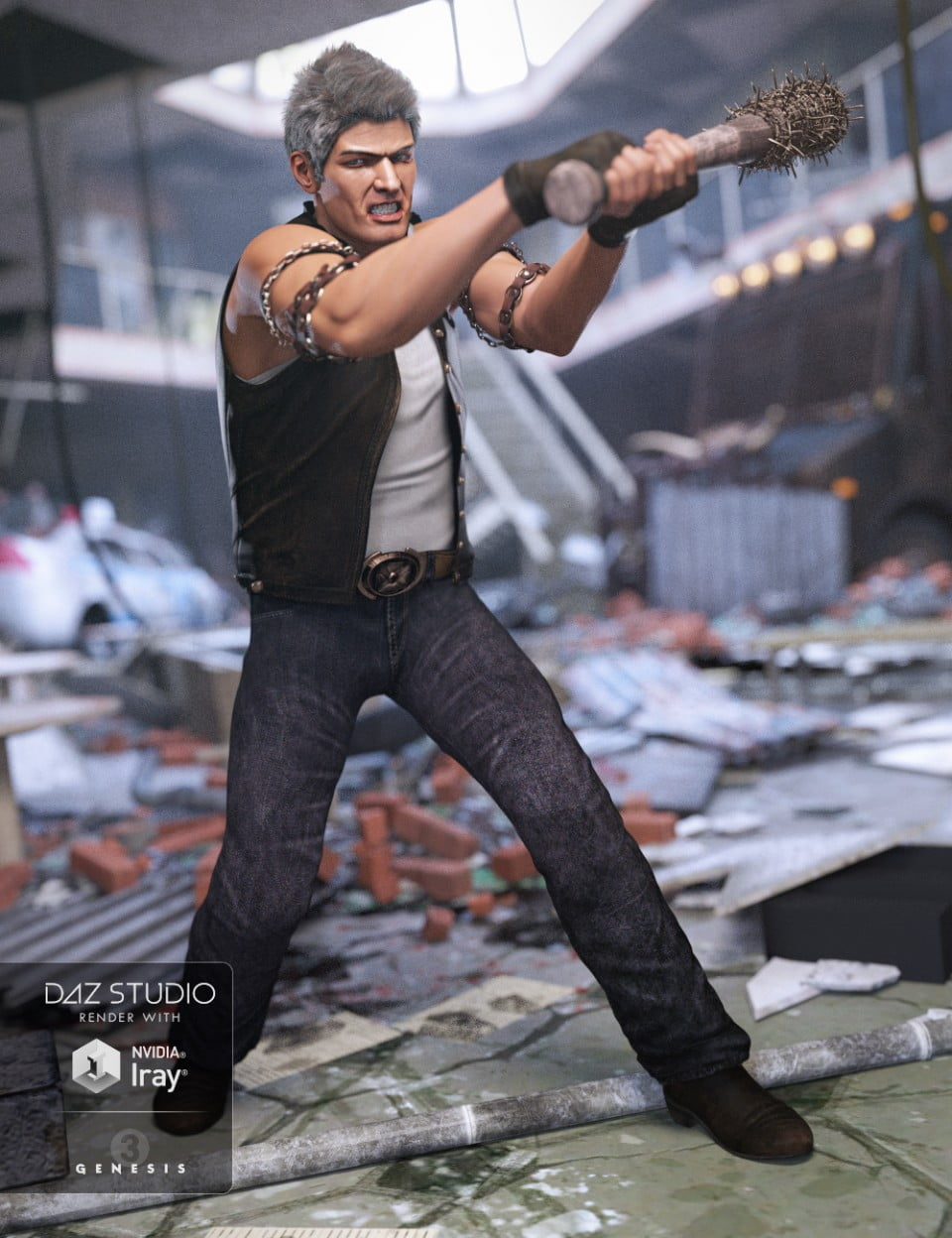 Ugly Dave Outfit for Genesis 3 Male(s)