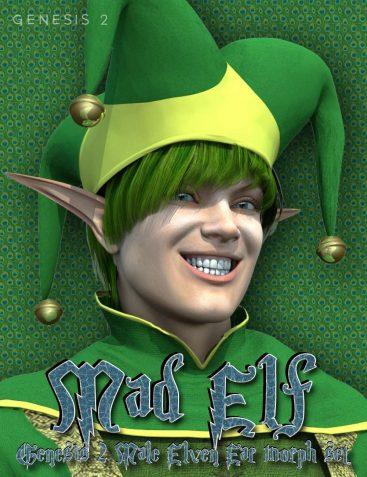 Mad Elf - Genesis 2 Male Elven Ears