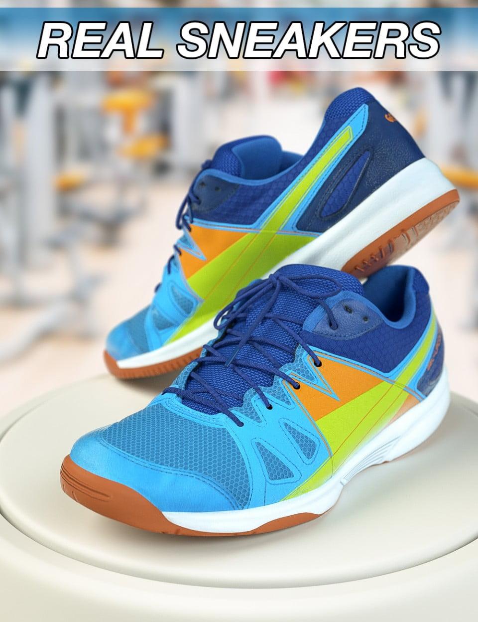 Slide3D Real Sneakers for Genesis 3 Female(s)