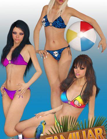 Charm Familiar Bikini