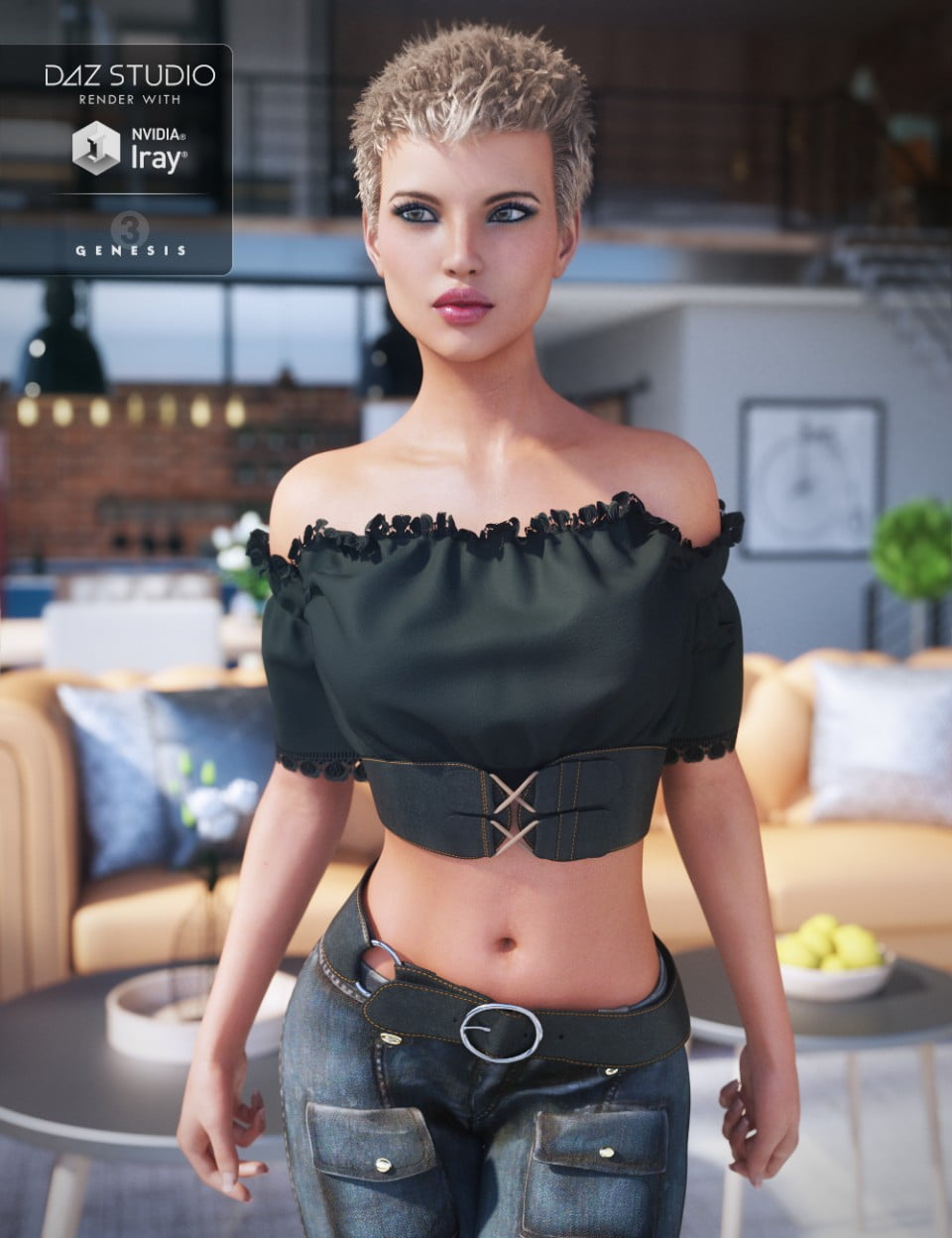 FWSA River HD for Genesis 3 Female