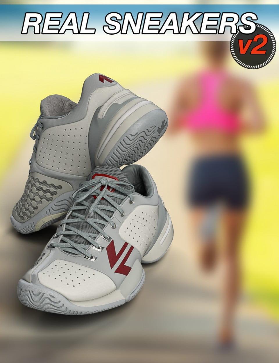 Slide3D Real Sneakers II for Genesis 3