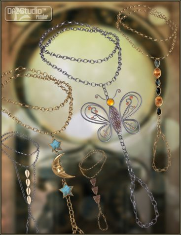 Bejeweled Bundle: Belly Chains And Hand And Foot Jewelry