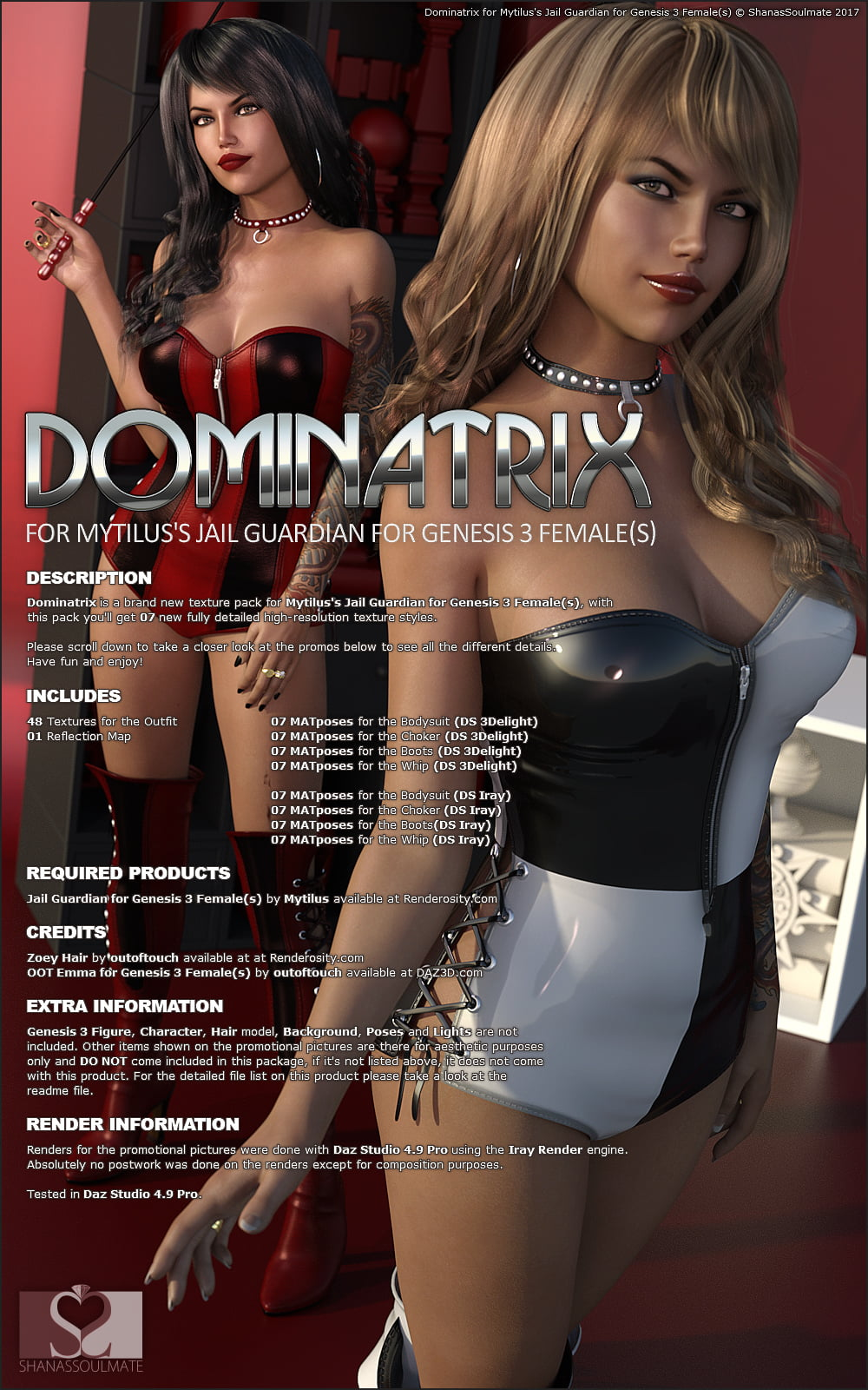 Dominatrix stuff