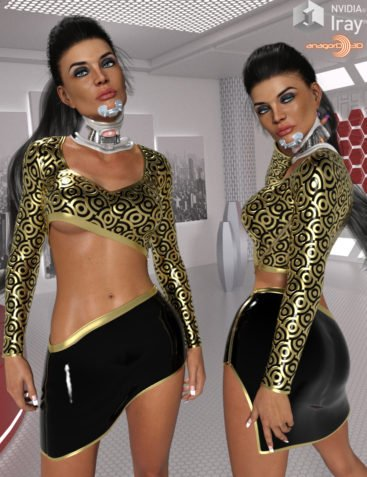 VERSUS - Sway Outfit for Genesis 3 Females
