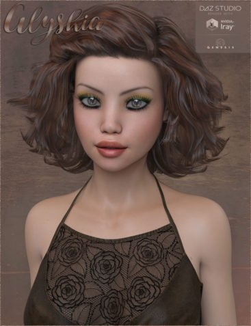 TDT-Alyshia for Genesis 3 Female