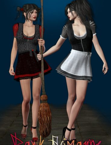 Dark Romance - The Dirndl by outoftouch