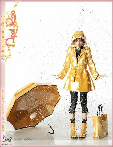 April Rain Gear for Genesis 3 Female(s)