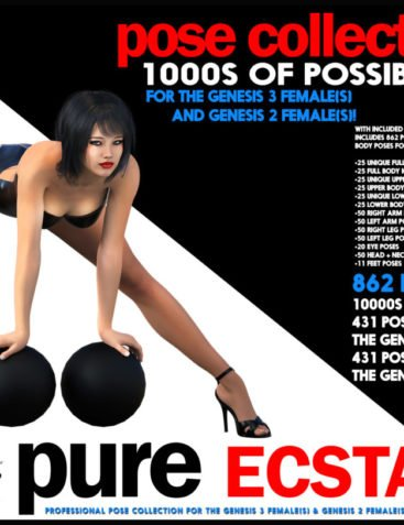 i13 PURE ECSTASY Pose Collection for G2F/G3F