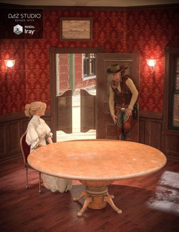 Collective3d Portrait Vignettes Old West 2