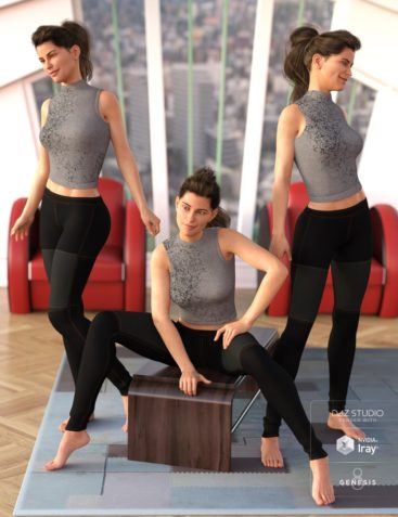 Capsces Variety Poses and Expressions for Genesis 8 Female and Victoria 8