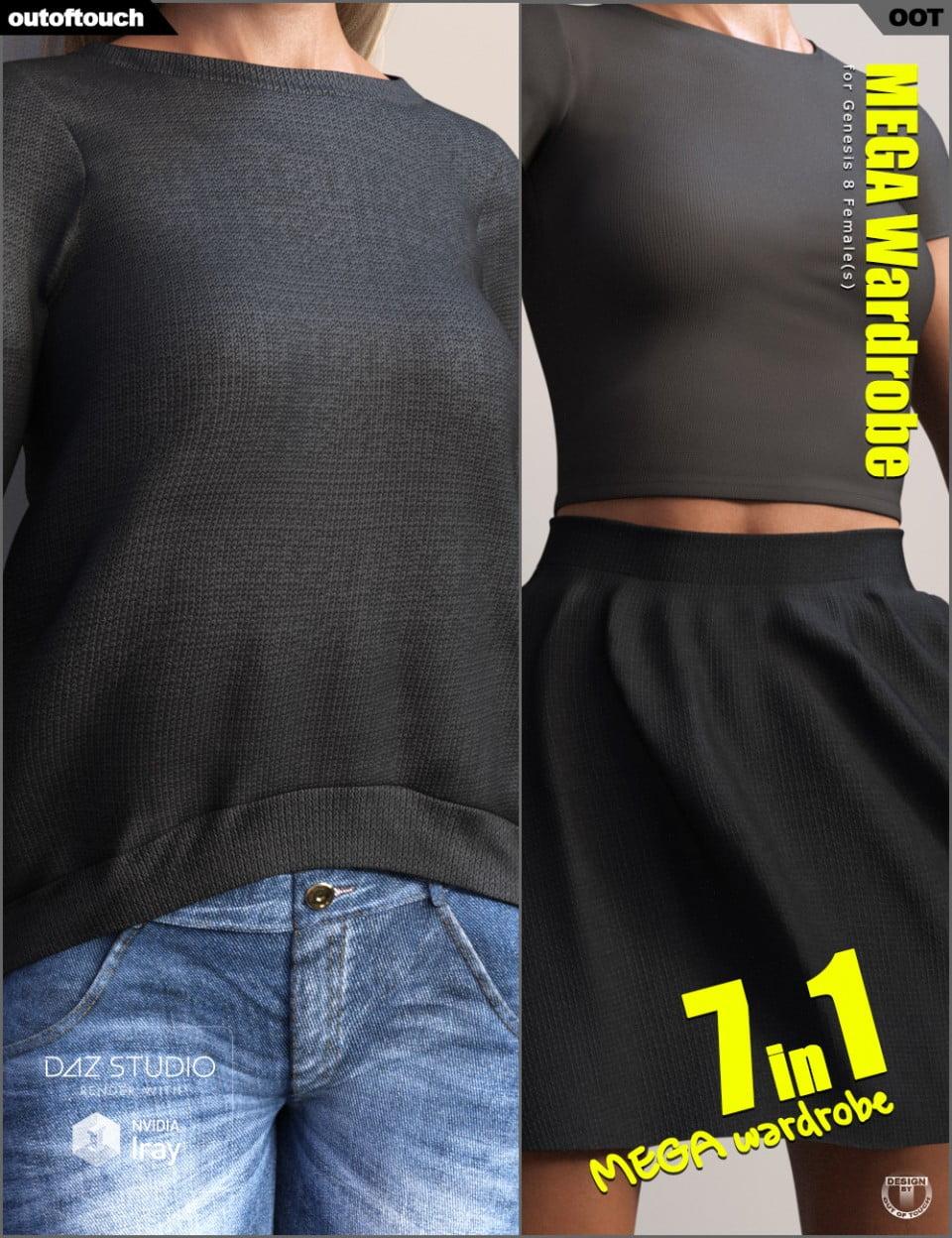 Genesis 8 Female MEGA Wardrobe