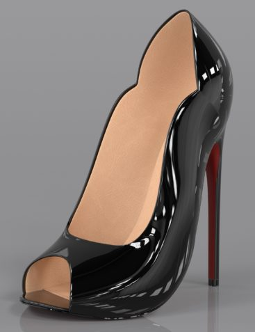 Lux High Heels for Genesis 3 and Genesis 8 Female(s)