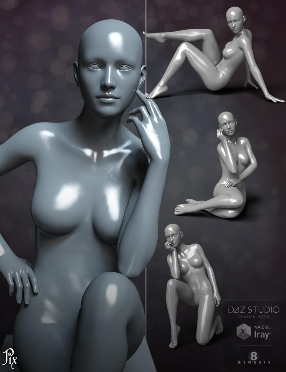 Magazine Cover Poses for Genesis 8 Female & Victoria 8