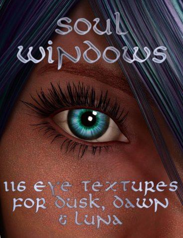 Soul Windows for Dusk, Dawn, and Baby Luna