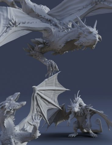 Dragon Reign Poses for Dragon 3 & Genesis 8 Female