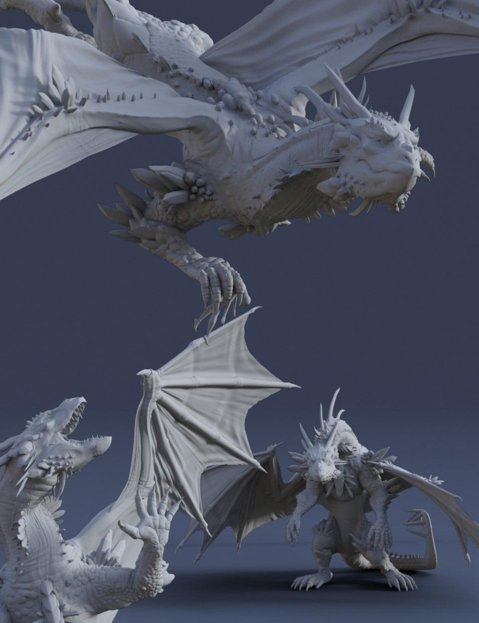 Dragon Reign Poses for Dragon 3 & Genesis 8 Female