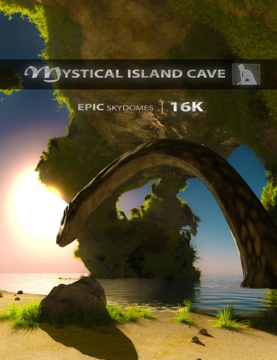 Epic Skydomes – Mystical Island Cave 16K HDRI