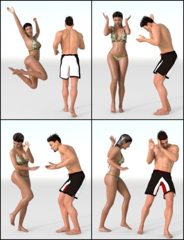 IGD Immersion Poses for Genesis 3 Male and Female