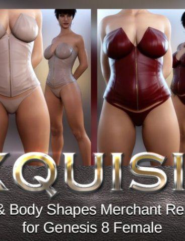 Exquisite Head & Body Merchant Resource Genesis 8 Female