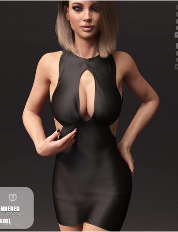 Drop Dress for Genesis 8 Females