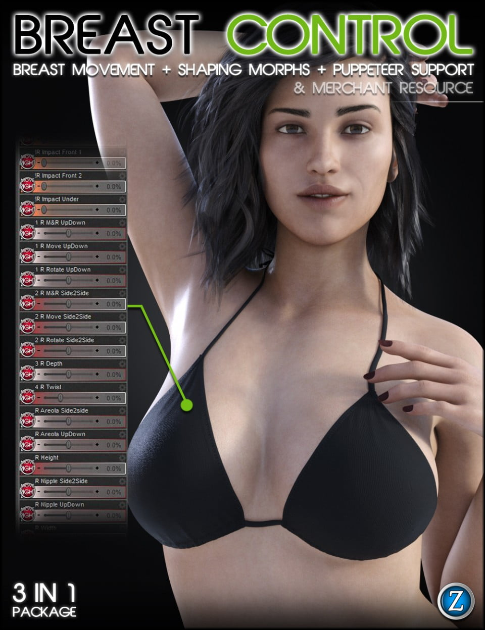 Breast Control Genesis 8 Female(s) Merchant Resource