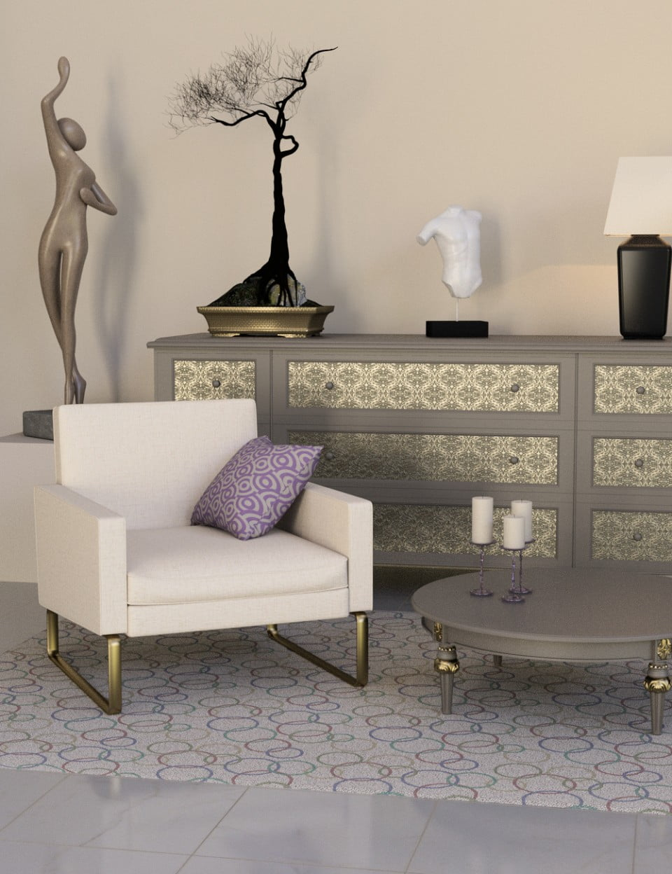 Decorator Kit: Neutral Shader Presets for Iray