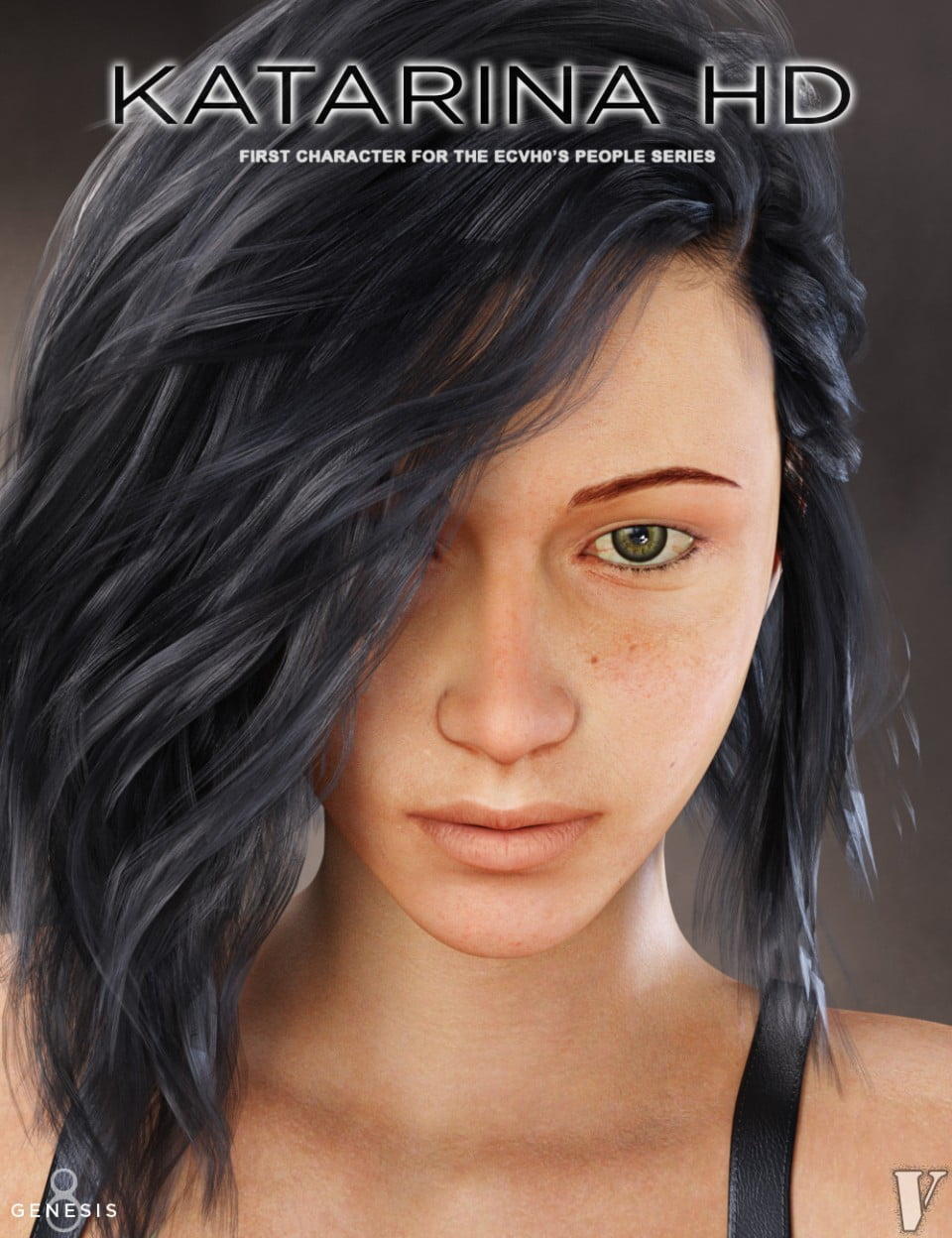 Katarina HD for Genesis 8 Female