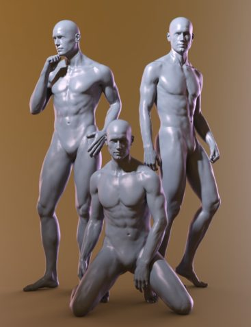 Manly Poses for Genesis 8 Male and Michael 8