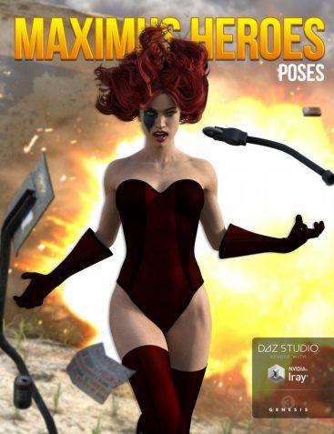 Maximus Heroes for Genesis 3 Female(s)