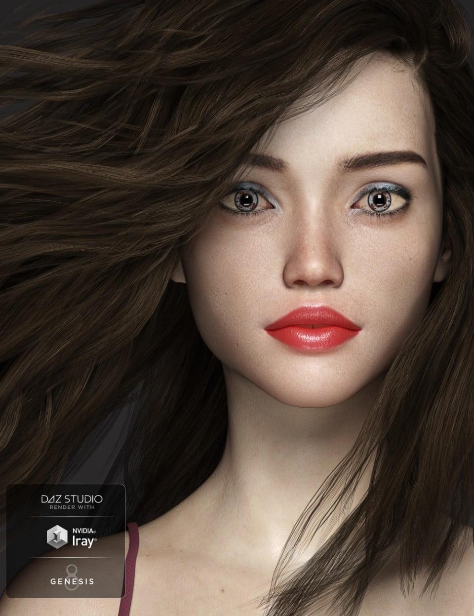 SC Chloe for Genesis 8 Female