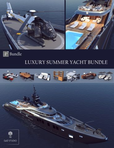 Luxury Summer Yacht Bundle Bonus