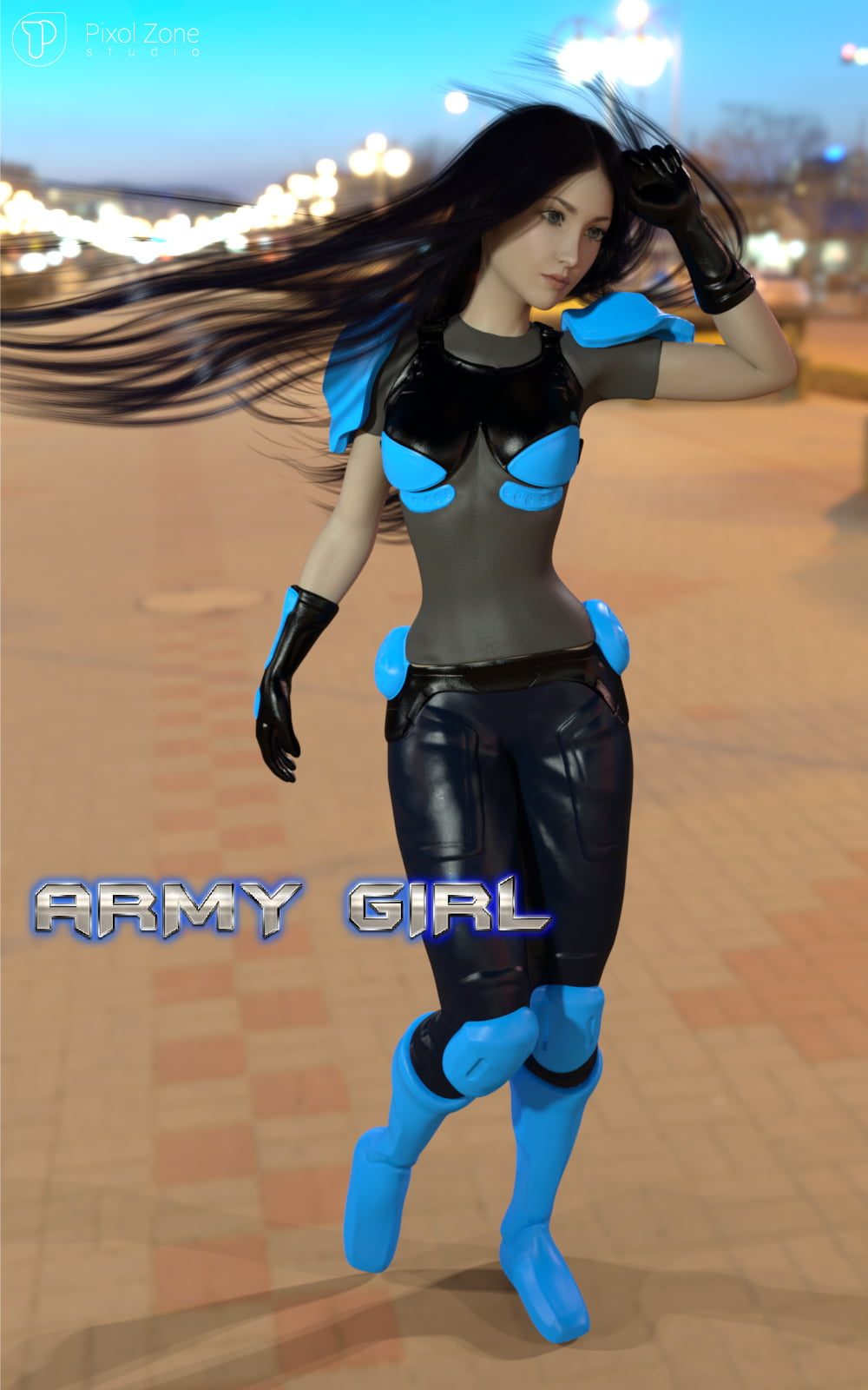 Army Girl Suit Gf3